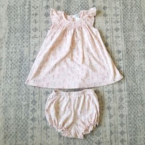 Feather Baby toddler girl 2T dress & cover